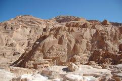 λευκό της Αιγύπτου φαραγγιών Στοκ Εικόνες