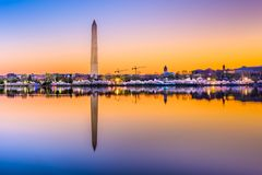 λευκό της Ουάσιγκτον σπιτιών γ δ Γ ΗΠΑ στοκ εικόνα