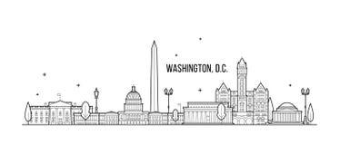λευκό της Ουάσιγκτον σπιτιών γ δ Γ  ελεύθερη απεικόνιση δικαιώματος