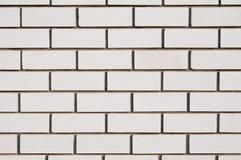 λευκό τοίχων πυριτικών αλάτων τούβλου Στοκ εικόνες με δικαίωμα ελεύθερης χρήσης