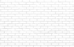 λευκό τοίχων σύστασης τούβλου Κομψός με τη υψηλή ανάλυση της άσπρης σύστασης τούβλου για την ταπετσαρία υποβάθρου και το γραφικό  Στοκ Εικόνα