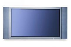 λευκό τοίχων TV Στοκ φωτογραφία με δικαίωμα ελεύθερης χρήσης