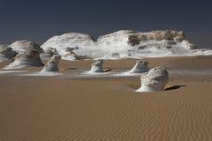 λευκό τοπίων ερήμων Στοκ εικόνες με δικαίωμα ελεύθερης χρήσης