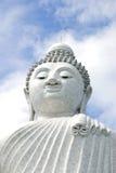 λευκό του Βούδα Στοκ Φωτογραφίες