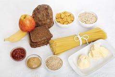 λευκό τροφίμων σιτηρεσίο Στοκ φωτογραφίες με δικαίωμα ελεύθερης χρήσης