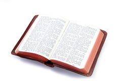 λευκό τσεπών Βίβλων Στοκ Εικόνες