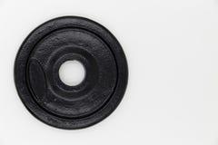 Λευκό υποβάθρου αλτήρων πιάτων Στοκ φωτογραφία με δικαίωμα ελεύθερης χρήσης