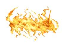λευκό φλογών πυρκαγιάς στοκ εικόνα με δικαίωμα ελεύθερης χρήσης