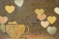 λευκό φλυτζανιών καφέ διανυσματική απεικόνιση