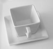 λευκό φλυτζανιών Στοκ εικόνες με δικαίωμα ελεύθερης χρήσης