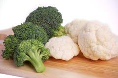λευκό φρέσκων λαχανικών α& Στοκ Φωτογραφίες
