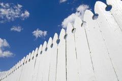 λευκό φραγών Στοκ εικόνες με δικαίωμα ελεύθερης χρήσης