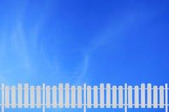 λευκό φραγών Στοκ φωτογραφία με δικαίωμα ελεύθερης χρήσης