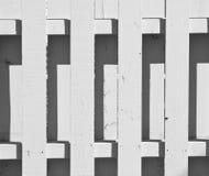 λευκό φραγών pickett Στοκ εικόνες με δικαίωμα ελεύθερης χρήσης