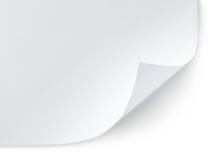 λευκό φύλλων εγγράφου Στοκ Εικόνες