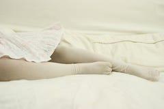 λευκό χορευτών Στοκ φωτογραφία με δικαίωμα ελεύθερης χρήσης