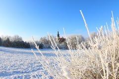 λευκό Χριστουγέννων Στοκ εικόνα με δικαίωμα ελεύθερης χρήσης