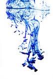 λευκό ύδατος μπλε μελανιού Στοκ εικόνα με δικαίωμα ελεύθερης χρήσης
