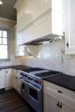 λευκό ύφους κουζινών εξ&o στοκ εικόνα με δικαίωμα ελεύθερης χρήσης
