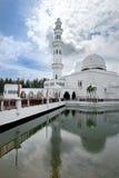 λευκό 01 μουσουλμανικών &ta Στοκ Εικόνες