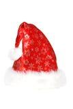 λευκό santa καπέλων Στοκ φωτογραφίες με δικαίωμα ελεύθερης χρήσης