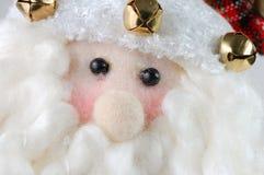 λευκό santa Χριστουγέννων αν&alp Στοκ εικόνες με δικαίωμα ελεύθερης χρήσης