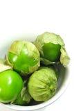 λευκό tomatillo κύπελλων Στοκ Φωτογραφία