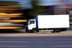 λευκό truck Στοκ Φωτογραφία