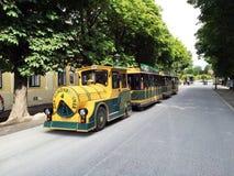 Λεωφορεία τουριστών στο παλάτι Schonbrunn Στοκ Εικόνες