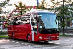Λεωφορείο λιονταριών ` s ΑΤΟΜΩΝ R07 στοκ φωτογραφία με δικαίωμα ελεύθερης χρήσης