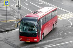 Λεωφορείο λιονταριών ` s ΑΤΟΜΩΝ R07 στοκ εικόνες με δικαίωμα ελεύθερης χρήσης
