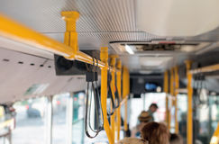 Λεωφορείο πόλεων στοκ εικόνες
