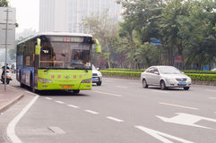 Λεωφορείο στην Κίνα Στοκ Εικόνες