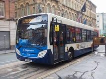 Λεωφορείο στο Λίβερπουλ Στοκ Εικόνες