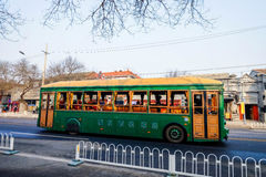 Λεωφορείο στο Πεκίνο Κίνα Στοκ Εικόνα