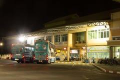 Λεωφορείο της επιχείρησης Sombattour Στοκ φωτογραφίες με δικαίωμα ελεύθερης χρήσης
