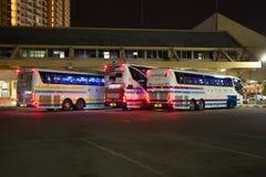Λεωφορείο της επιχείρησης Sombattour Στοκ φωτογραφία με δικαίωμα ελεύθερης χρήσης
