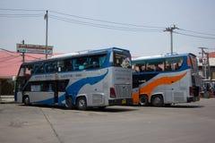 Λεωφορείο της διπλής διαδρομής Μπανγκόκ α γεφυρών κυβερνητικής επιχείρησης μεταφορών Στοκ φωτογραφία με δικαίωμα ελεύθερης χρήσης