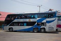 Λεωφορείο της διπλής διαδρομής Μπανγκόκ α γεφυρών κυβερνητικής επιχείρησης μεταφορών Στοκ Εικόνες