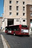 Λεωφορείο Atac στη Ρώμη, Ιταλία Στοκ εικόνα με δικαίωμα ελεύθερης χρήσης