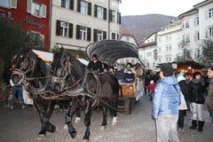 Λεωφορείο Bolzen Στοκ Εικόνες
