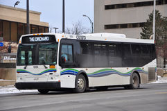 Λεωφορείο Centro Utica, Utica, κράτος της Νέας Υόρκης, ΗΠΑ Στοκ φωτογραφίες με δικαίωμα ελεύθερης χρήσης