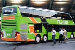 Λεωφορείο FlixBus στοκ εικόνα με δικαίωμα ελεύθερης χρήσης