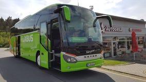 Λεωφορείο MeinFernbus FlixBus Στοκ φωτογραφία με δικαίωμα ελεύθερης χρήσης