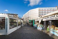 Λεωφόροι αγορών στο Μόναχο Στοκ φωτογραφία με δικαίωμα ελεύθερης χρήσης