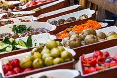 Λεωφόρος αγορών δικαστηρίων τροφίμων Στοκ Φωτογραφία