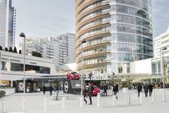 Λεωφόρος αγορών στη Ιστανμπούλ Στοκ Εικόνες