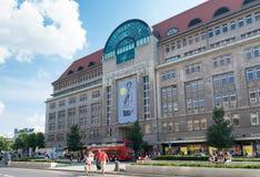 Λεωφόρος αγορών στο Βερολίνο Στοκ Φωτογραφία