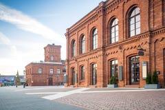 Λεωφόρος αγορών στο Λοντζ, Πολωνία Στοκ Εικόνα
