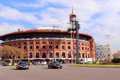 Λεωφόρος αγορών χώρων Las - Βαρκελώνη, Ισπανία Στοκ Φωτογραφία